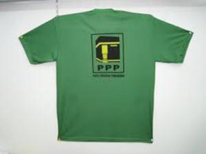 baju partai ppp